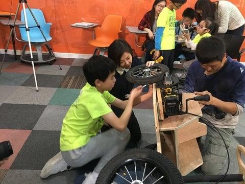 F3 小朋友製作電能車