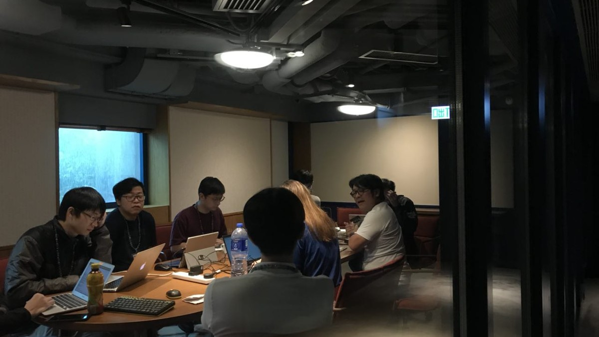 Station Journal : g0vhk 1st hackathon reflection