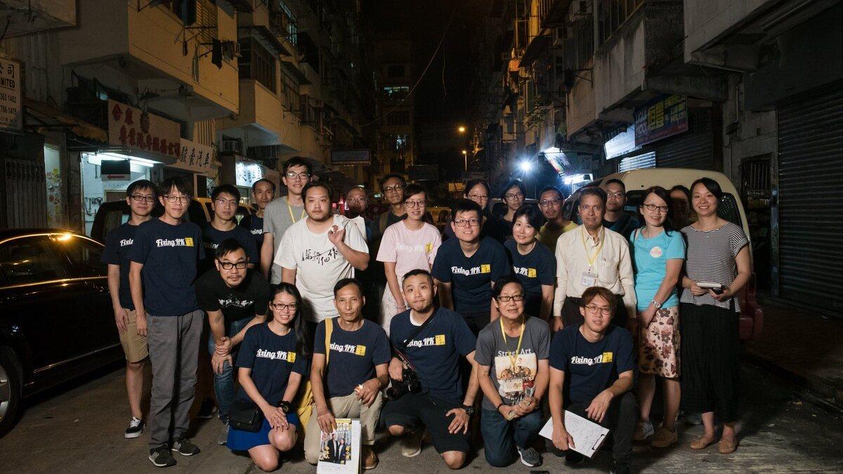 【維修香港】由維修劏房到關注沉降 「維修香港」的民主揼石仔實驗