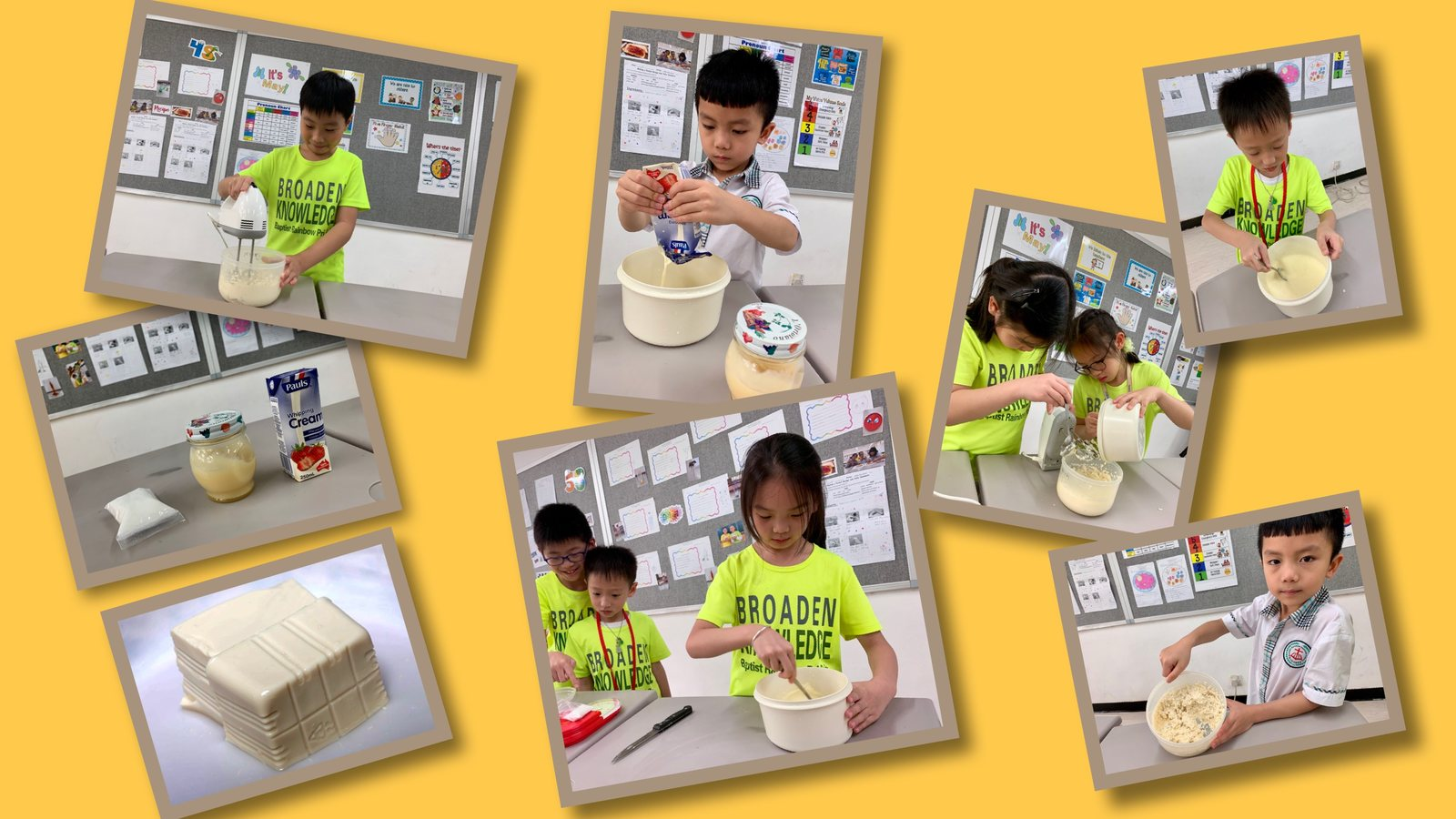 學做豆腐雪糕