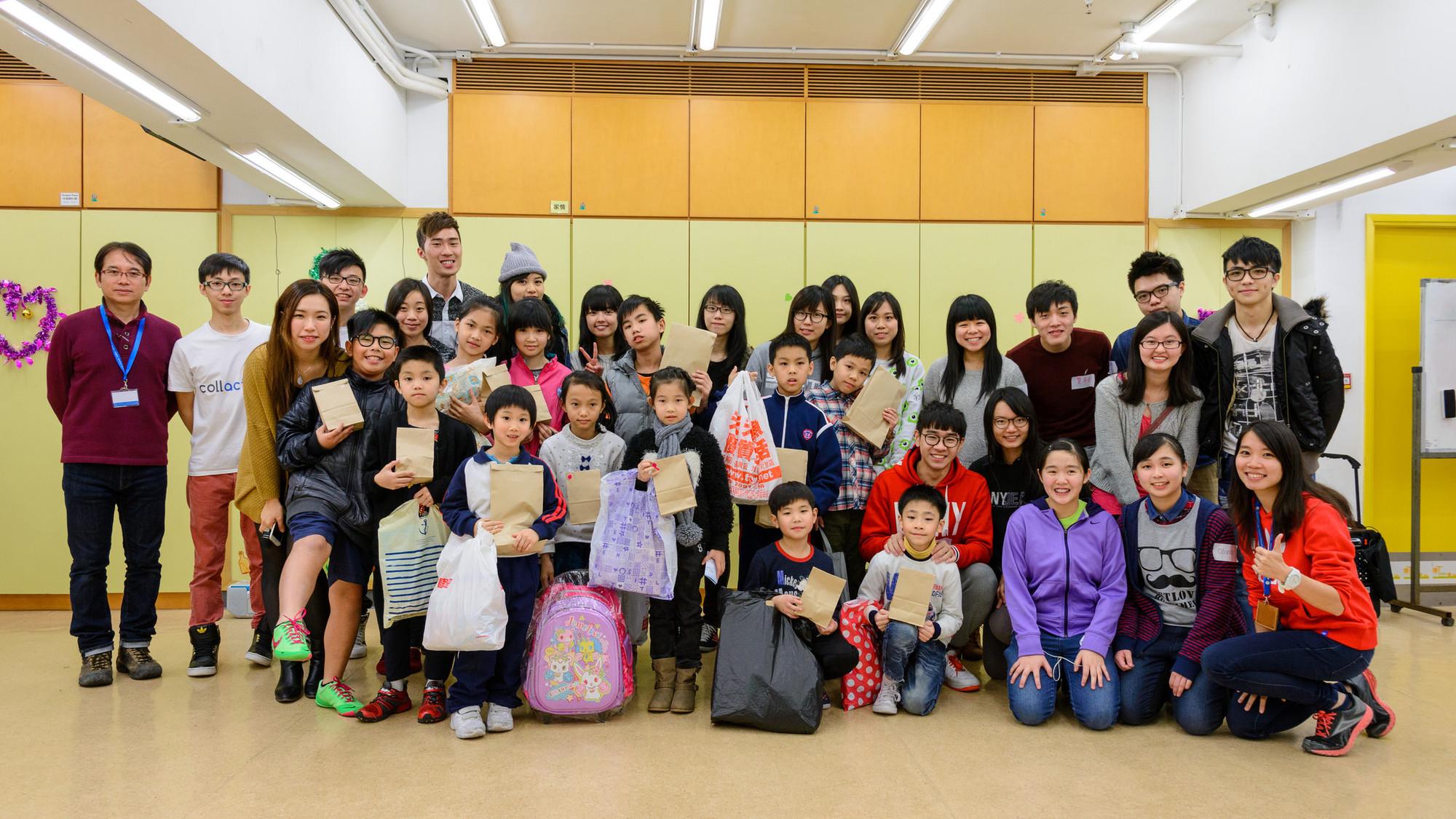 童心共享(一):一個培養小公民的年度教育項目