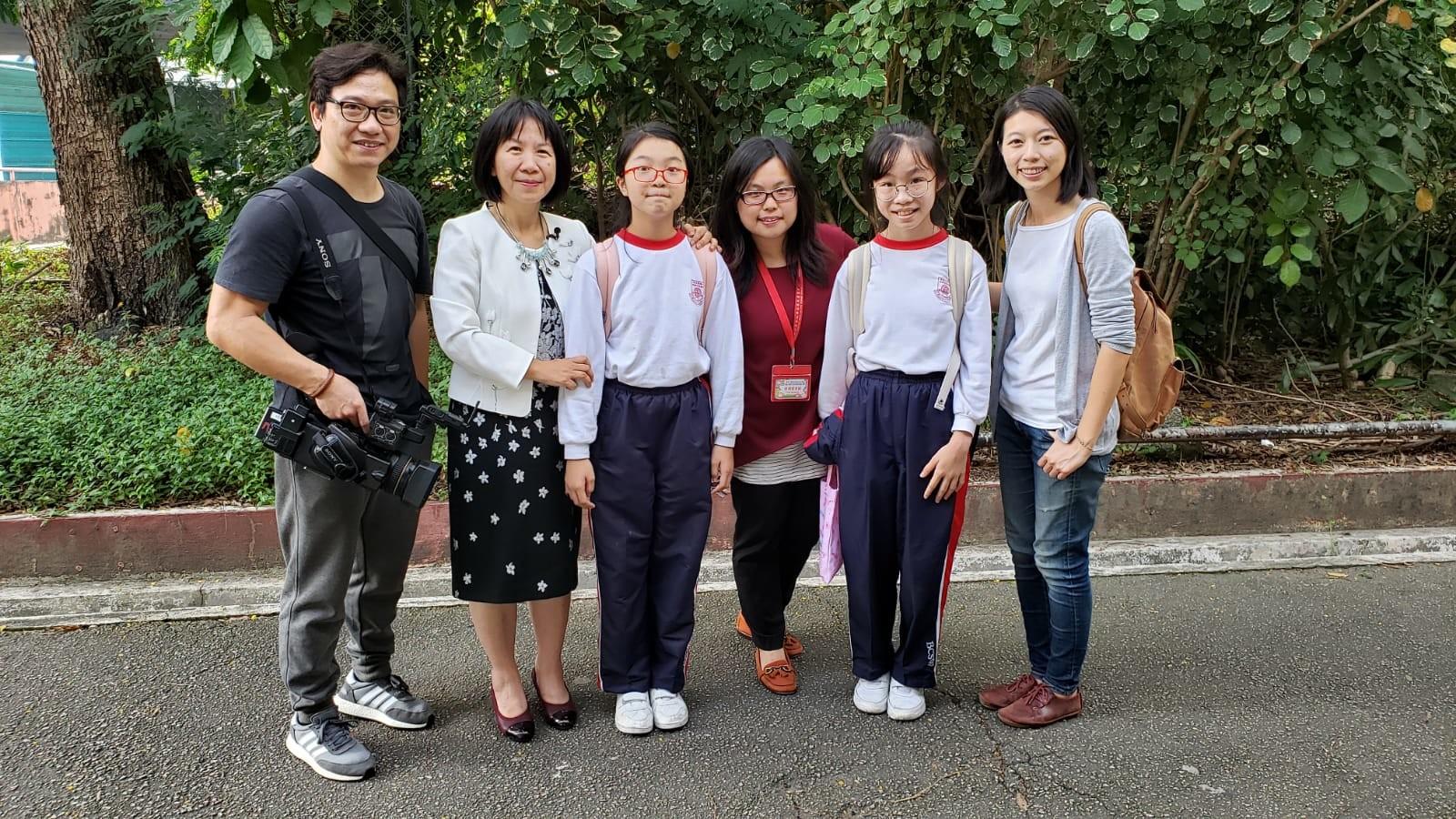記者與拍攝團隊到訪式宏家