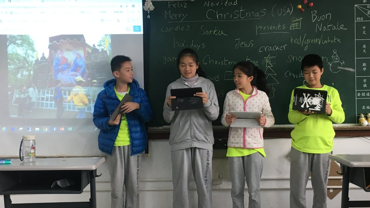 電子學習(資料搜集)-認識各國慶祝聖誕節的習俗