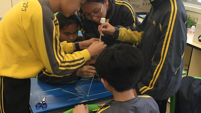 Build a marshmallow TOWER