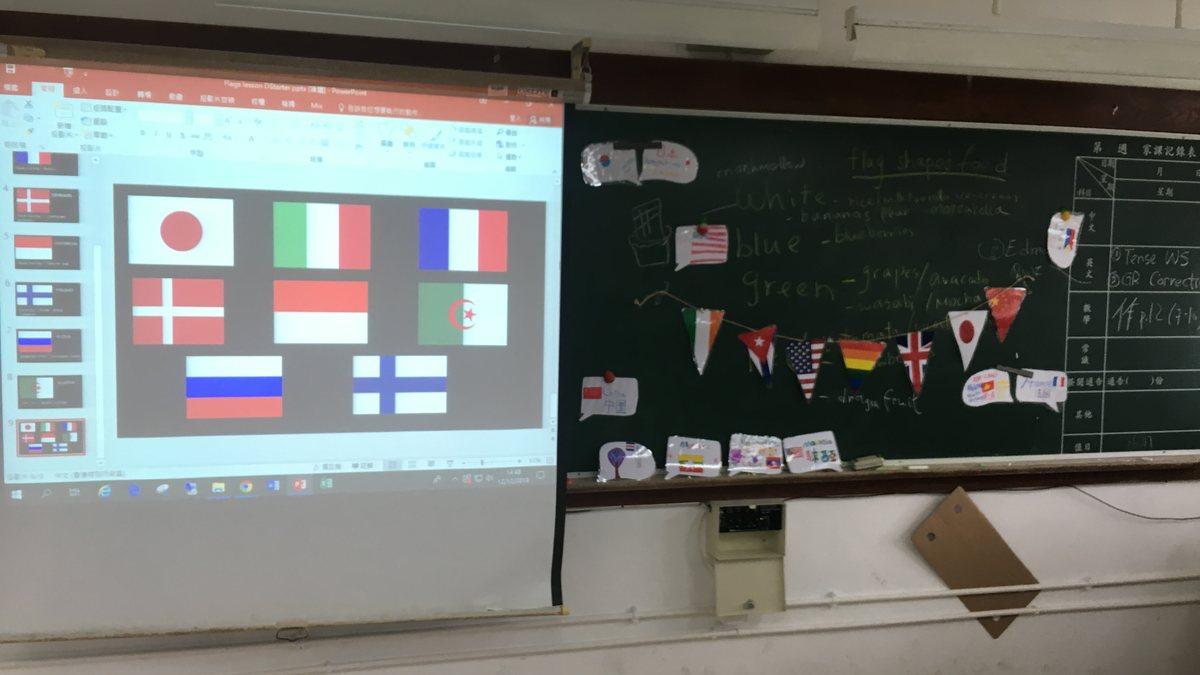 認識不同國旗,製作「國旗形狀多士」
