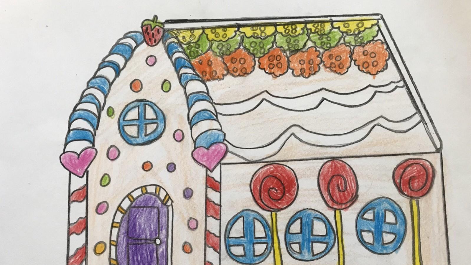 我們設計的糖果屋
