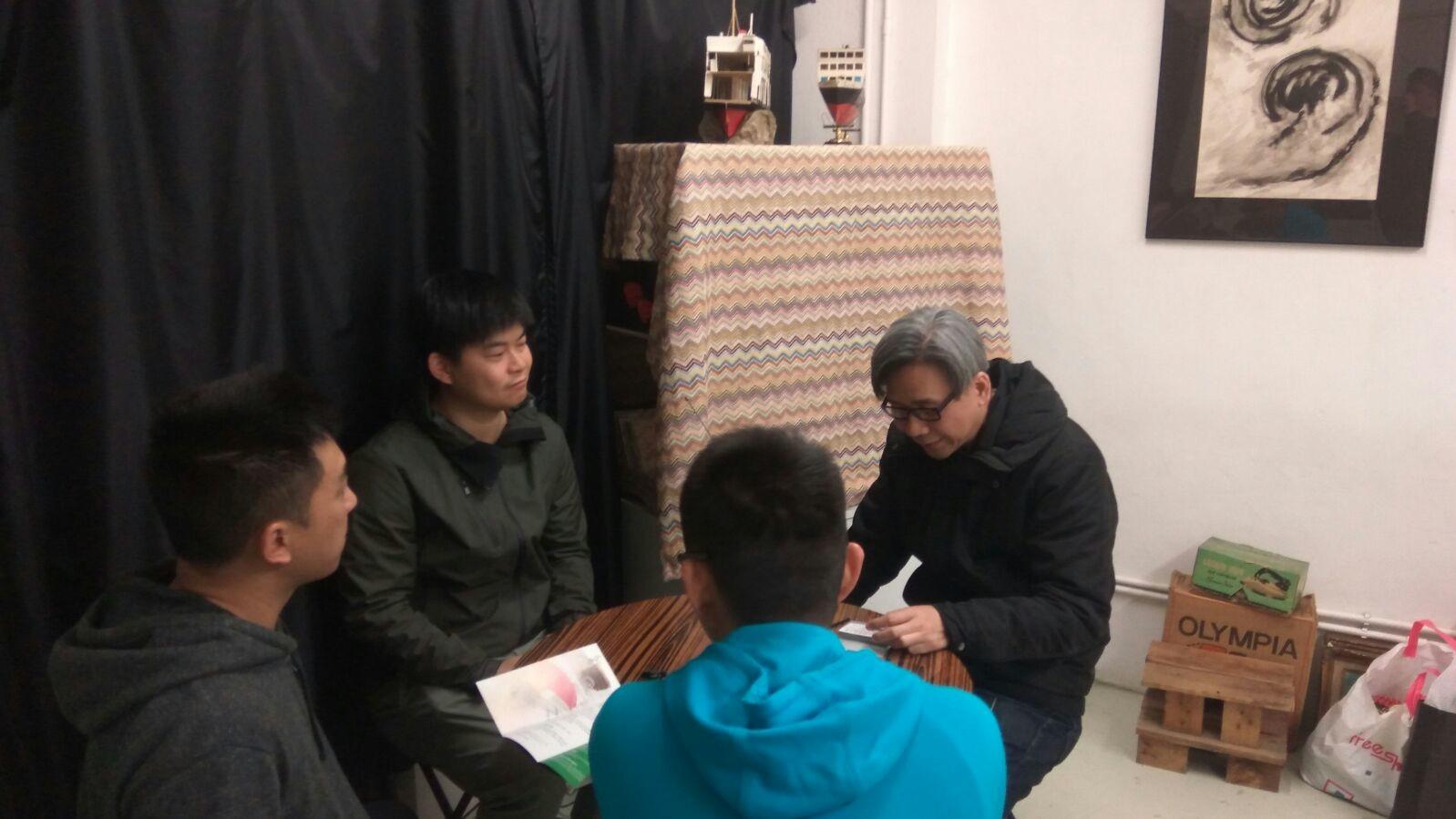 【平民美食車:夢想之第一桶金】天乙慈愛基金會與香港藝術及設計聯會舉行首次交流會