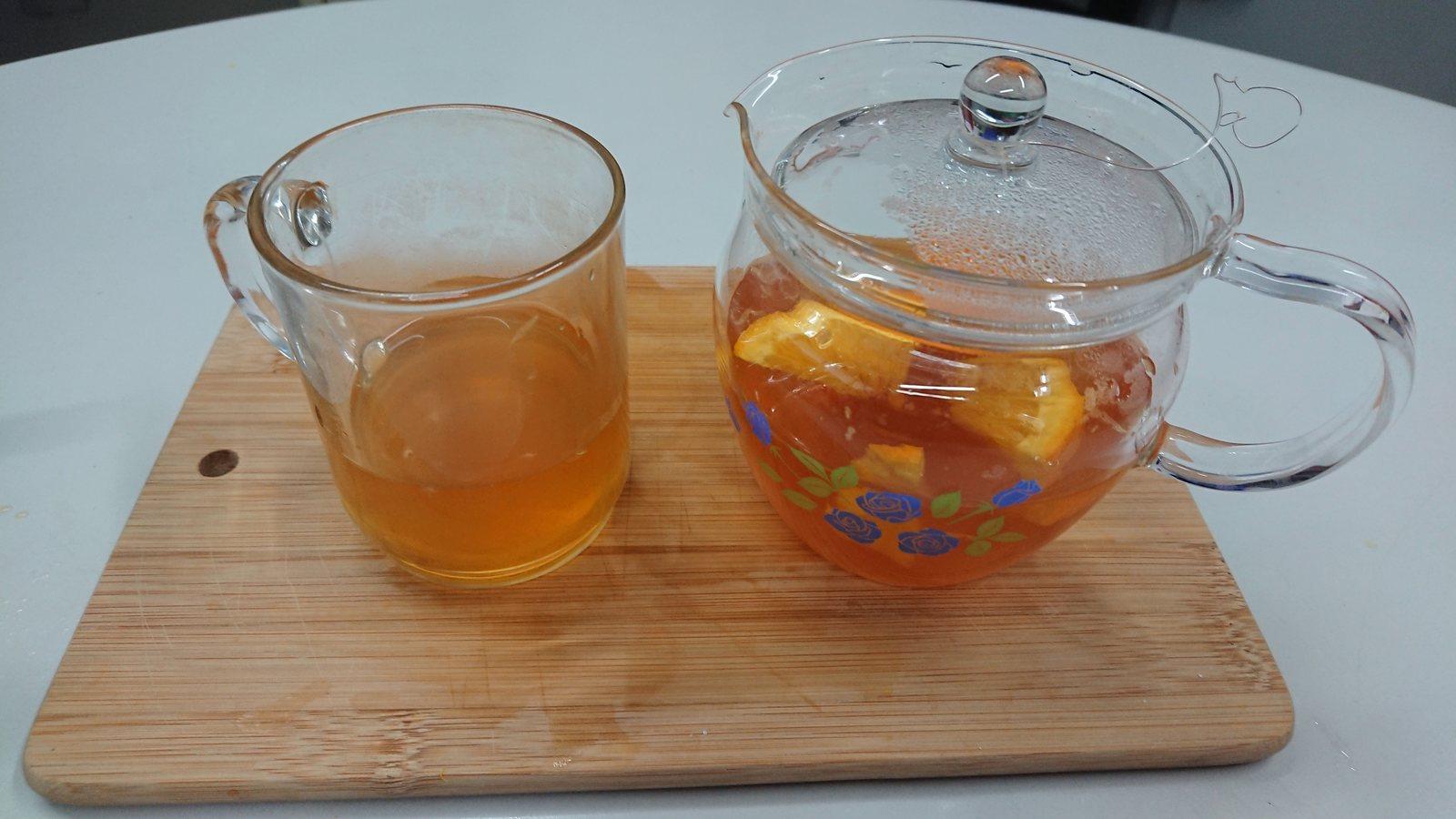 鮮橙紅茶?☕