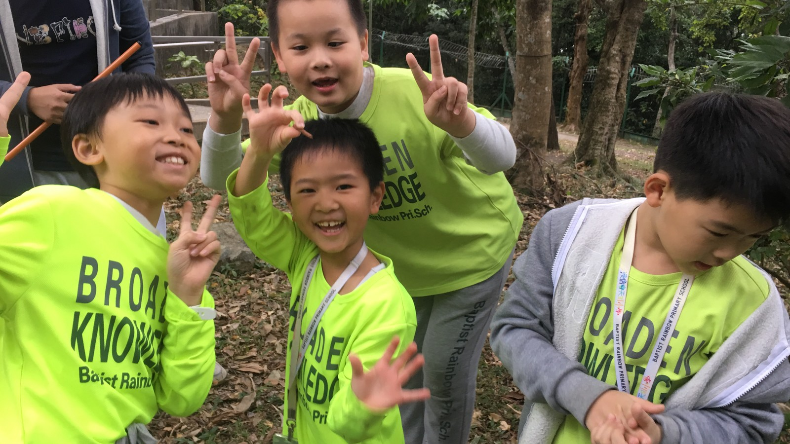 「尋香」寶寶們齊參加環境及樹木保育工作坊!