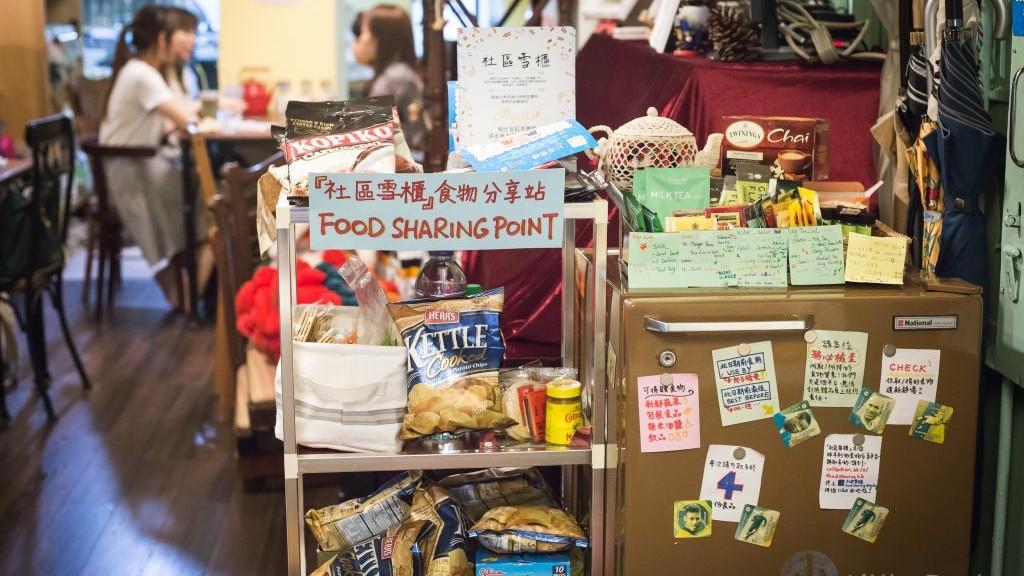 社區雪櫃 x 紅茶書室:給街坊一個共享食物櫃-Little Post 「一小步」
