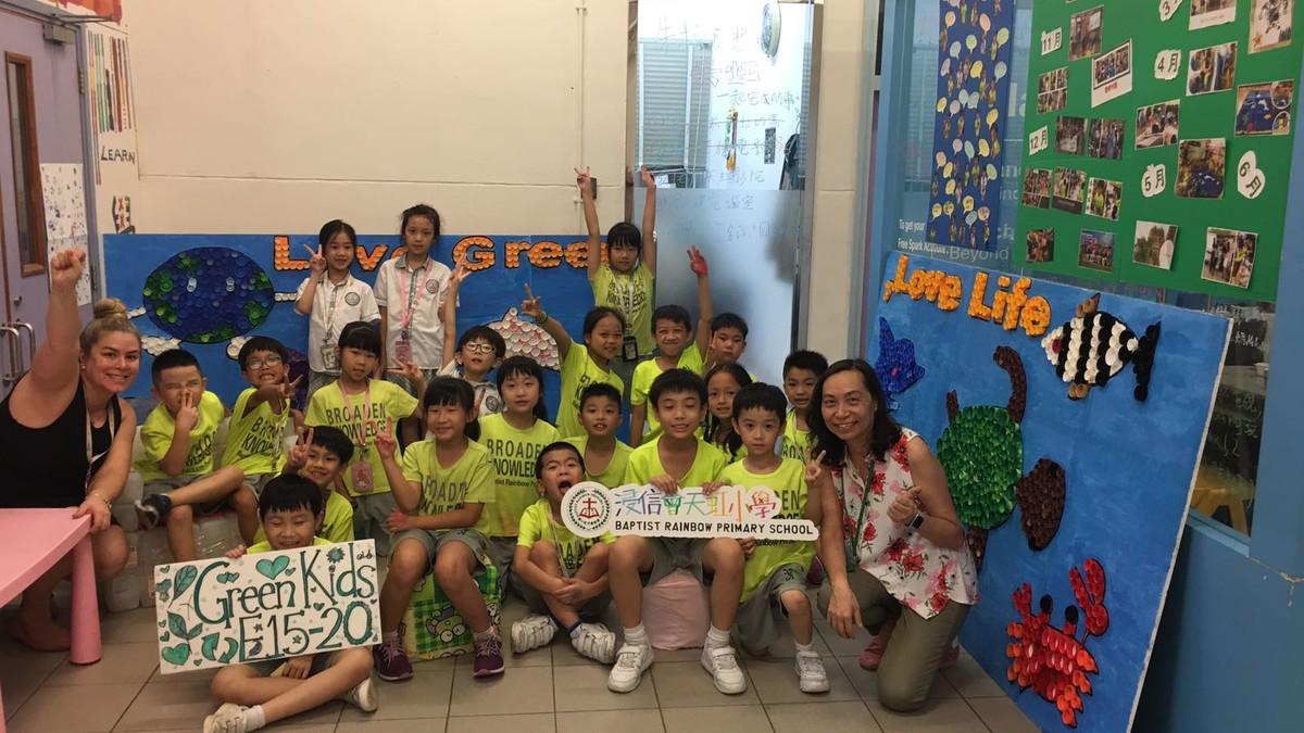 今年的塑膠資源教育項目,終於完滿結束!