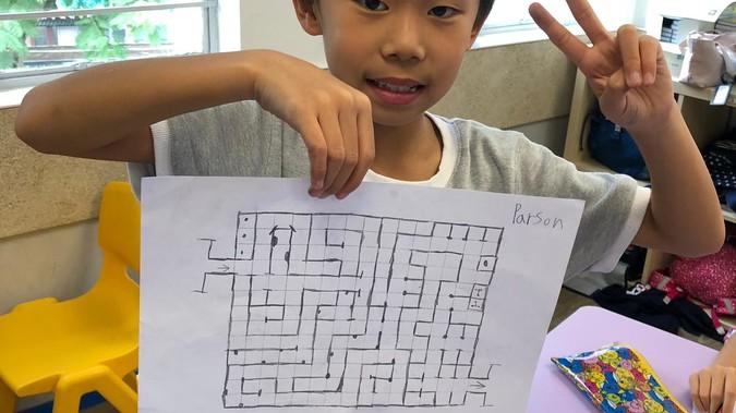 A Life Size Maze